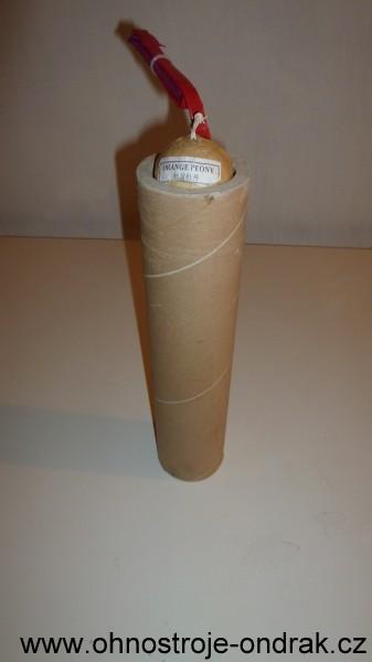 Hotový papírový moždíř s KP 50 mm