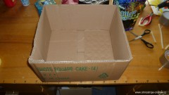 Krabice na výrobu ohňostroje na jeden odpal