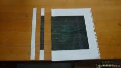 Ustřižený papírový proužek